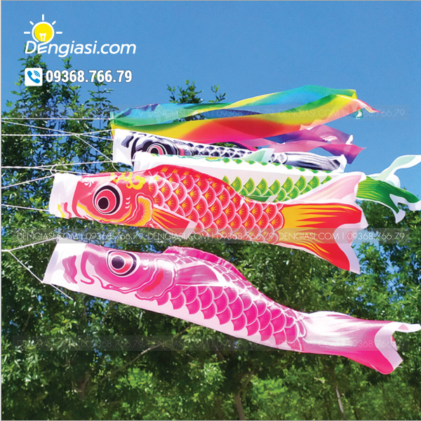 Cờ cá chép Nhật Bản 02