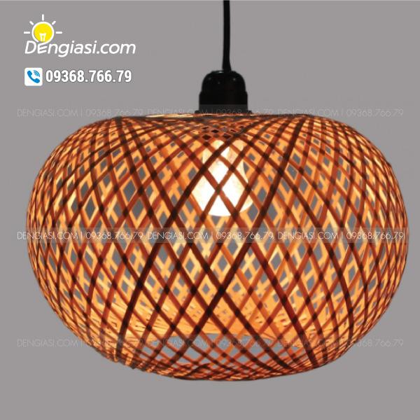 Đèn nơm tre DGS01